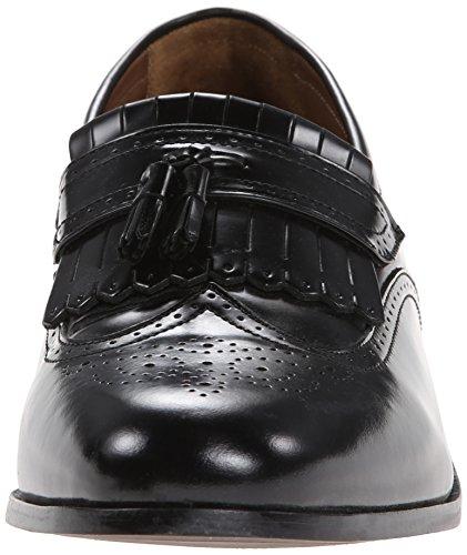 Florsheim - Hombre Brinson Kiltie Tassel Slip-on Loafer, Negro