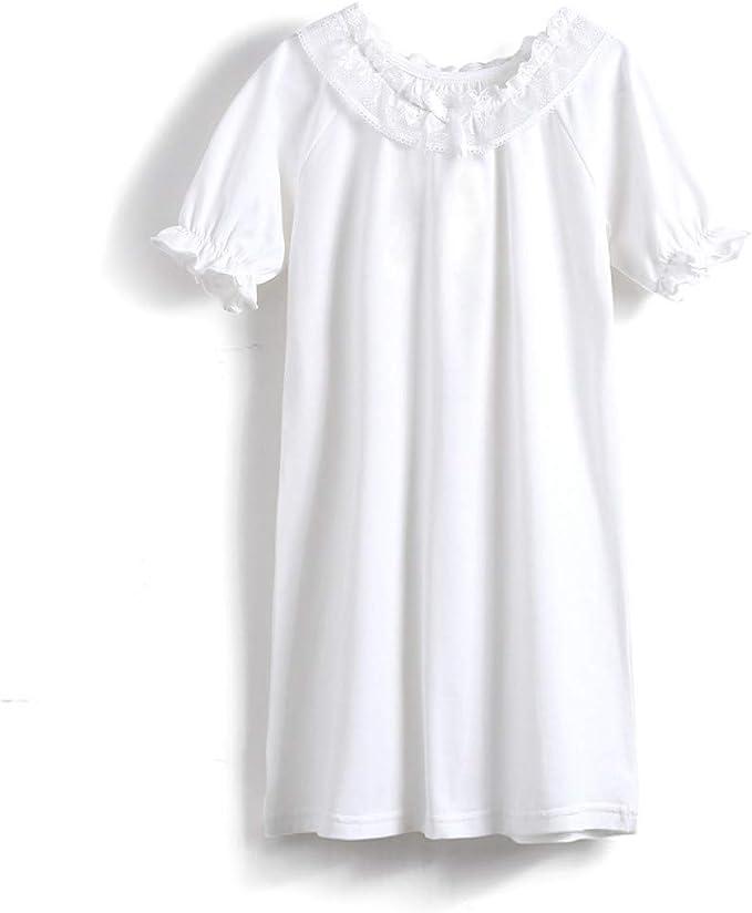 Camisón de Princesa para niñas, Pijama de algodón Victoriano ...