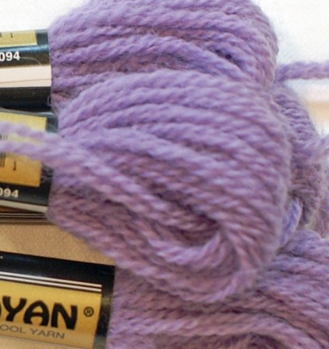 Paternayan Needlepoint 3 Ply Wool Yarn Color 312 Grape