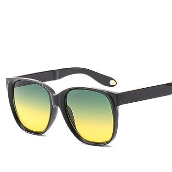 Liuao 2019 Gafas de Sol cuadradas Moda para Hombre ...