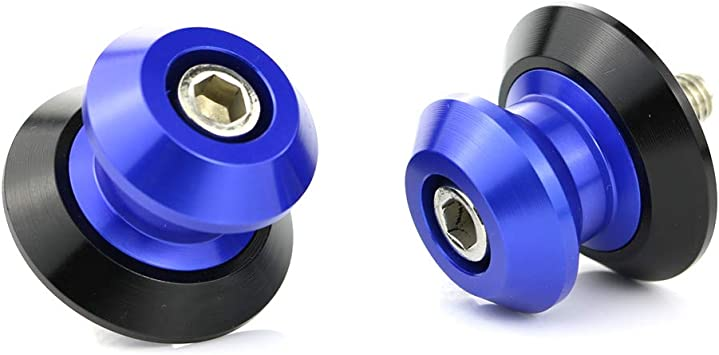 Black CNC Swingarm Spools 8MM L//R For Suzuki GSXR 600 11-16 12 13 14 15 16