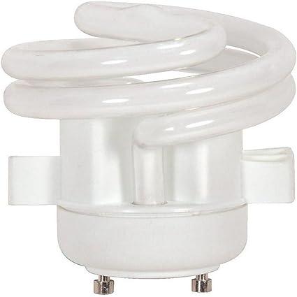 Satco S8228 18 Watt 1100 Lumens CFL Soft White 2700K GU24 Light Bulb Case of 12
