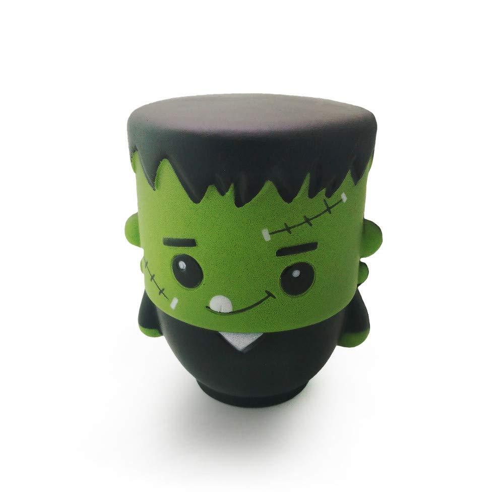 JIAHUADE Slow Rebound Pu Foam Toy Cute Little Zombie Halloween Dark Series Props