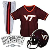 Franklin Sports NCAA Virginia Tech Hokies Deluxe Youth Team Uniform Set, Small
