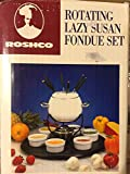Roshco Rotating Lazy Susan Fondue Set