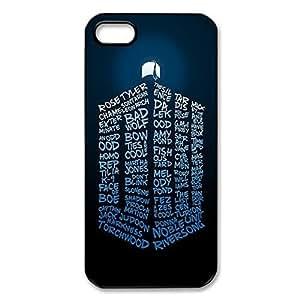Custom Doctor Who Hard Cover Case Cover for iPhone 5 5s case WANGJING JINDA
