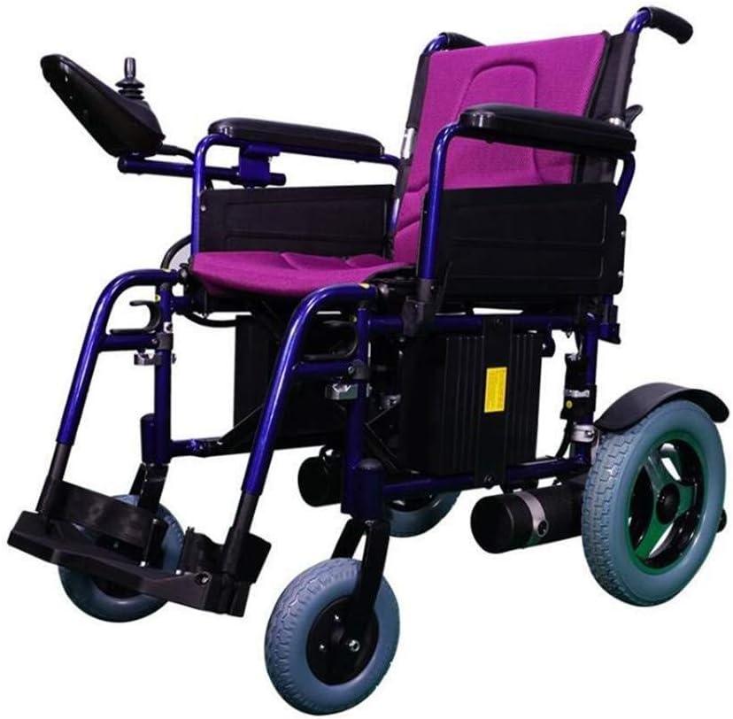 Luckya 医療リハビリテーション椅子、車椅子、電動車椅子、インテリジェント多機能軽量折りたたみは、耐久性に優れた電動車いすフォー障害者高齢者の屋外快適なソファホイールを丸めキャリー