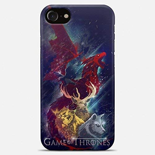 Inspired by Game of thrones phone case Game of thrones iPhone case 7 plus X 8 6 6s 5 5s se Game of thrones Samsung galaxy case s9 s9 Plus note 8 s8 s7 edge s6 s5 s4 note gift art cover dragon