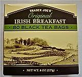 3 X Trader Joe's Original Irish Breakfast Tea (80 Black Tea Bags Per Box)