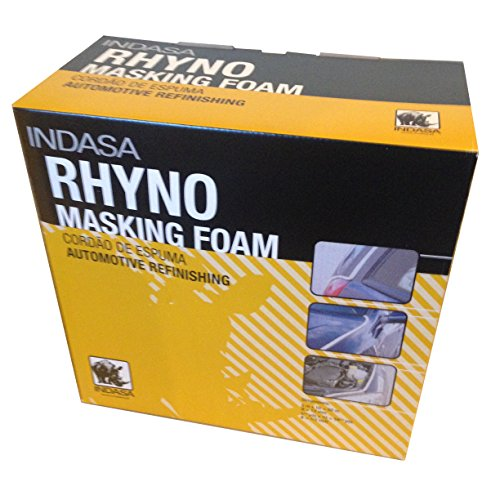 INDASA RHYNO Soft Edge Foam Masking Tape Automotive Door,Trunk & Hood Jambs