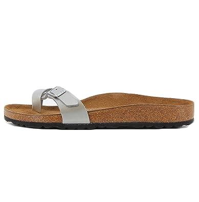 c9da0ec325bf Birkenstock Sandals Piazza Silver 35