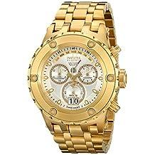 Invicta Men's 14471 Subaqua Analog Display Swiss Quartz Gold Watch