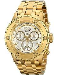 Invicta Mens 14471 Subaqua Analog-Display Swiss Quartz Gold-Plated Watch