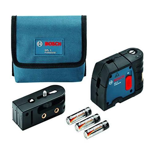 chollos oferta descuentos barato Bosch Professional Láser de 3 puntos GPL 3 láser rojo Alcance hasta 30 m Estuche de protección