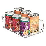 InterDesign Linus Kitchen, Pantry, Refrigerator, Freezer Storage Container - Large, Clear
