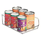 freezer containers for ice - InterDesign Linus Refrigerator or Freezer Food Storage Container – Organizer Drawer for Kitchen or Pantry - Large, Clear
