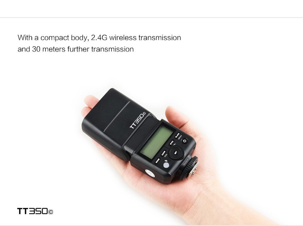 Godox mini gn36 ttl hss 1 8000s 2.4 ghz flash godox tt350o speedlite