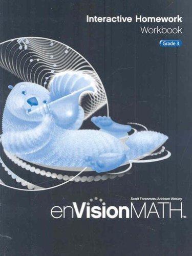 Envision Math: Interactive Homework Workbook, Grade 3