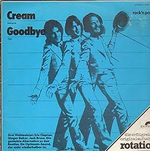 GOODBYE VINYL LP[1969][583053] CREAM
