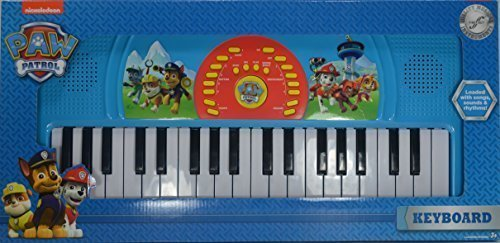 Keyboard First (Paw Patrol Keyboard Toy Piano by First Act)