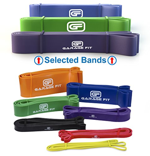 Pull up Bands - Set of 3, Heavy Duty Resistance Bands, Mobil