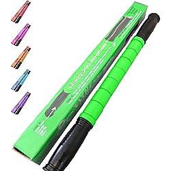 The Muscle Stick Original Massage Roller | Muscle Roller Stick Massager - The Stick for Relief - Green
