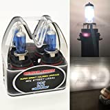 club car head lights - (Box of 2) 9007-HB5 Super White (High/Low Beam) Xenon Halogen 5000K Headlight Light Bulb Head Lamp - Hi/Lo Stock 12V Car