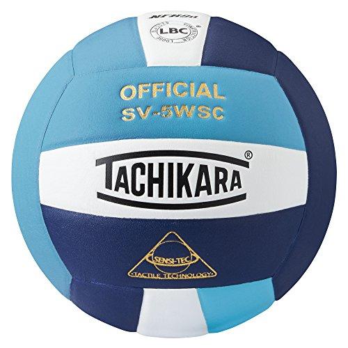 Tachikara Sensi-Tec Composite High Performance Volleyball (Powder Blue/White/Navy)