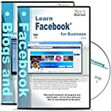 Using Facebook Marketing for Business & Blogging New Tutorial Training Course on 2 DVDs