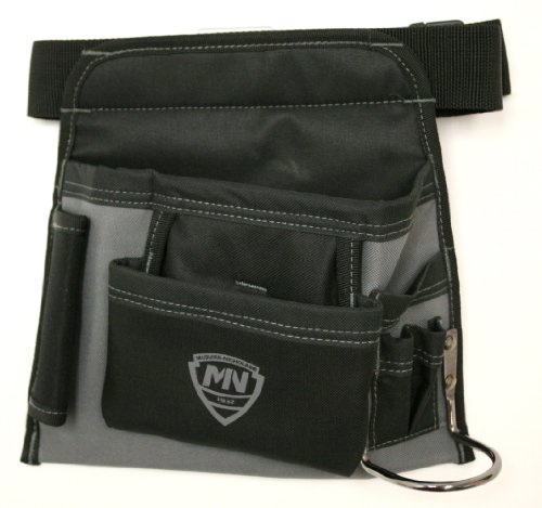 McGuire Nicholas 5-Pocket Handyman's Tool belt and pouch with hammer loop. Adjustable up to 48 inches by McGuire-Nicholas (Image #1)