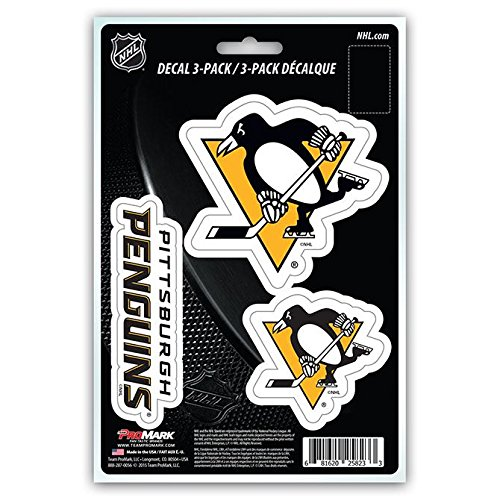 NHL Pittsburgh Penguins Team Decal, (Pittsburg Penguins)