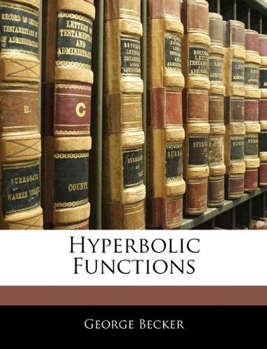 Download Hyperbolic Functions ebook