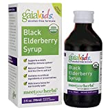 Gaia Herbs Gaia Kids Black Elderberry Syrup, 3 Ounce – Delicious Daily Immune Support with Antioxidants, Organic Sambucus Elderberry For Sale