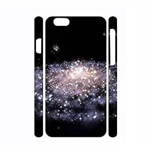 Fantastic Dustproof Galaxy Pattern Hard Plastic Phone Shell for ipod touch4 Case - Inch