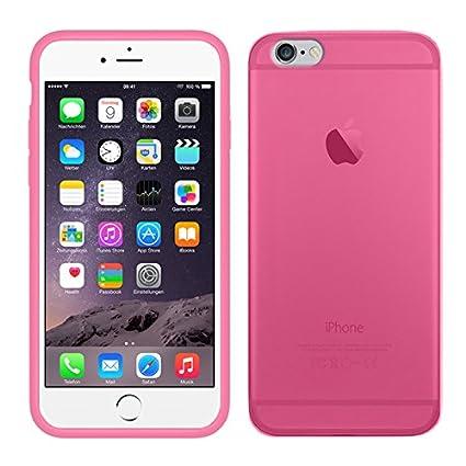 41db97c7c7b TBOC® Funda de Gel TPU Rosa para Apple iPhone 6 Plus / 6S Plus (5.5 ...