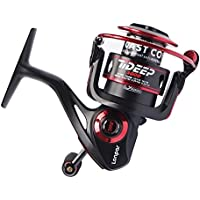 LONPAR Tideep Spinning Fishing Reel 8+1 BB Lightweight Up...