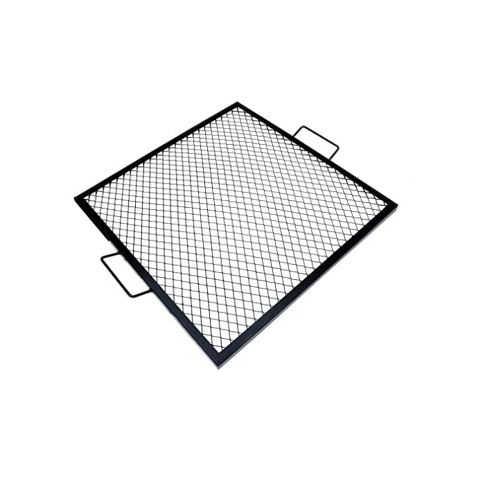 Onlyfire X-Marks Square Fire Pit Cooking Grate