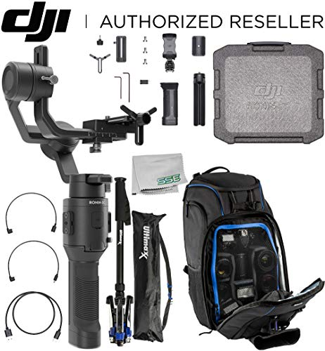 DJI Ronin-SC Compact Stabilizer 3-Axis Gimbal Handheld Stabilizer (Loki) for Mirrorless Camera Essential Must-Have Bundle – CP.RN.00000040.01