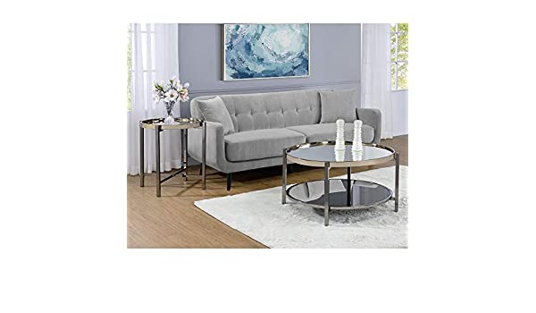 Phenomenal Amazon Com Picket House Furnishings Monaco Round Coffee Pabps2019 Chair Design Images Pabps2019Com