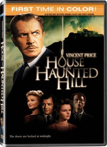 Amazon Com House On Haunted Hill Colorized Black White Vincent Price Carol Ohmart Richard Long Alan Marshal Carolyn Craig Elisha Cook Jr Julie Mitchum Leona Anderson Howard Hoffman Skeleton Carl E