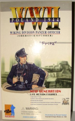 Dragon Fritz WWII German Wiking Division Panzer Officer