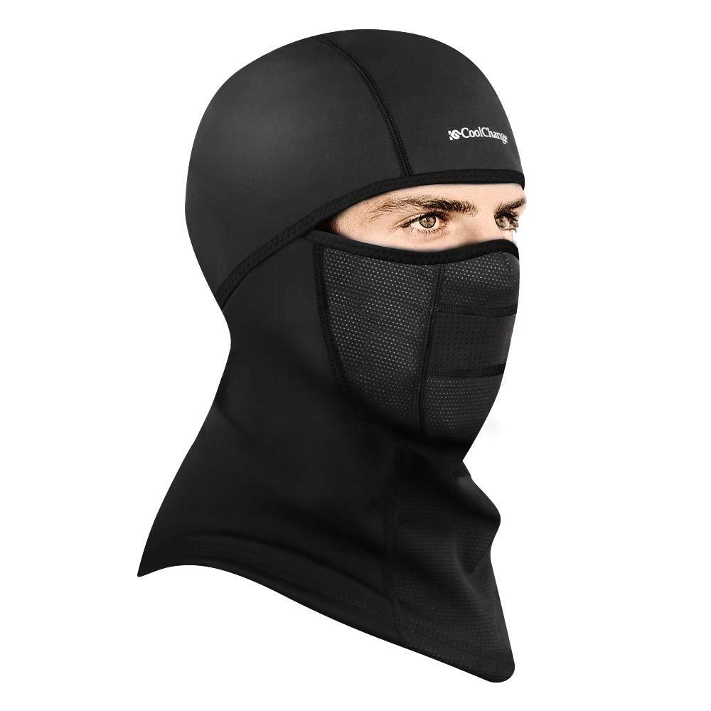 CoolChange Winter Windproof Half Face Mask Ear Warmer Motorcycle Ski Mask Seamless Tube Balaclava 2004002