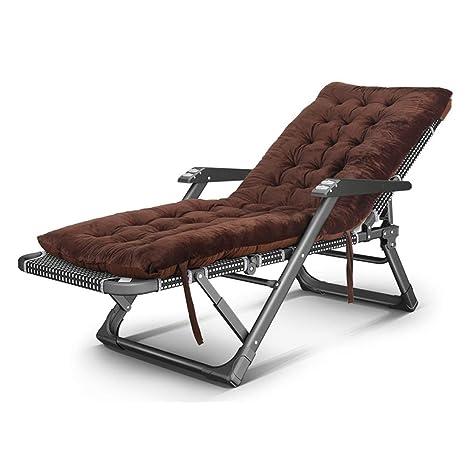GaoXu Silla plegable Tumbona, sillones para sillones con ...