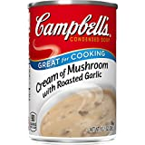 Campbell's Condensed Soup, Cream of Mushroom with Roasted Garlic, 10.5 Ounce