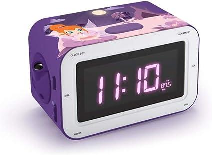 Bigben Sound RR30PFairy4 - Radio despertador infantil con diseño ...