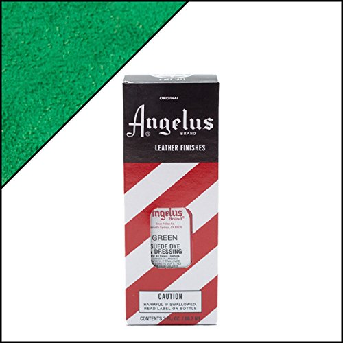 Green Nubuck (Angelus Brand Suede & Nubuck Dye & Dressing - Green)