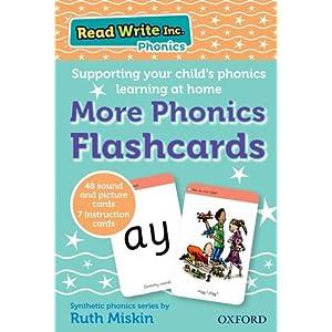 Read Write Inc. Phonics: Home More Phonics Flashcards