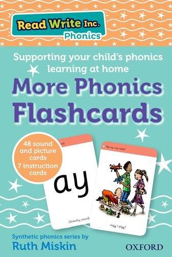 Read Write Inc. Phonics: More Phonics Flashcards: Amazon.co.uk: Ruth ...