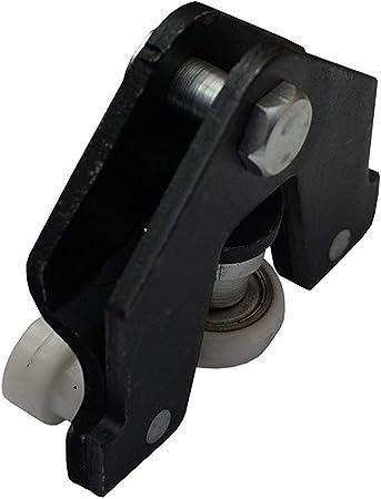 Guía de Rodillo de Puerta corredera 7700312012J, 4409245, 91165708 para Opel: Amazon.es: Coche y moto