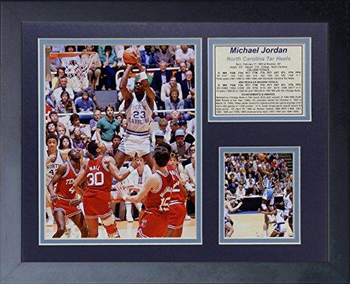 (Michael Jordan - North Carolina 'Jump' 11